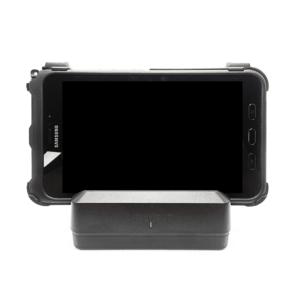 Samsung Galaxy Tab Active2 in KOAMTAC 1-slot Charging Cradle